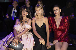 Eleonora Carisi, Linda Tol attend the fashion show during Bvgalri Gala Dinner held at the Stadio dei Marmi in Rome, Italy on June 28, 2018. Photo by Marco Piovanotto/ABACAPRESS.COM