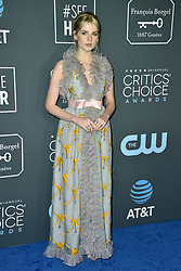 Lucy Boynton attends the 24th annual Critics' Choice Awards at Barker Hangar on January 13, 2019 in Santa Monica, CA, USA. Photo by Lionel Hahn/ABACAPRESS.COM