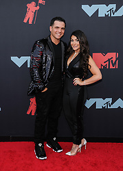 August 27, 2019, Newark, New Jersey, USA: 27 August 2019 - Newark, New Jersey -  Christopher Buckner, Deena Nicole Cortese. 2019 MTV Video Music Awards held at Prudential Center. Photo Credit: Christopher Smith/AdMedia (Credit Image: © Christopher Smith/AdMedia via ZUMA Wire)