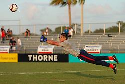 December 2, 2018 - Lakewood Ranch, FL, USA - LAKEWOOD RANCH, FL - December 2, 2018: USMNT Under-17 Men's National Team vs Brazil. The 2018 Nike International Friendlies at Premier Sports Campus. (Credit Image: © John Dorton/ISIPhotos via ZUMA Wire)