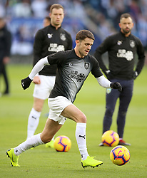 Burnley's Robbie Brady warms up before the match