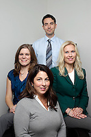 19 December 2013:  Belmont Psychological Services office and staff in Long Beach, California.