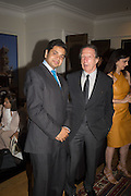 DEBOTTAM BOSE; SIR RALPH GOLDENBERG, Dinner to celebrate the 10th Anniversary of Contemporary Istanbul Hosted at the Residence of Freda & Izak Uziyel, London. 23 June 2015