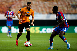 Matt Doherty of Wolverhampton Wanderers takes on Tyrick Mitchell of Crystal Palace - Mandatory by-line: Robbie Stephenson/JMP - 20/07/2020 - FOOTBALL - Molineux - Wolverhampton, England - Wolverhampton Wanderers v Crystal Palace - Premier League