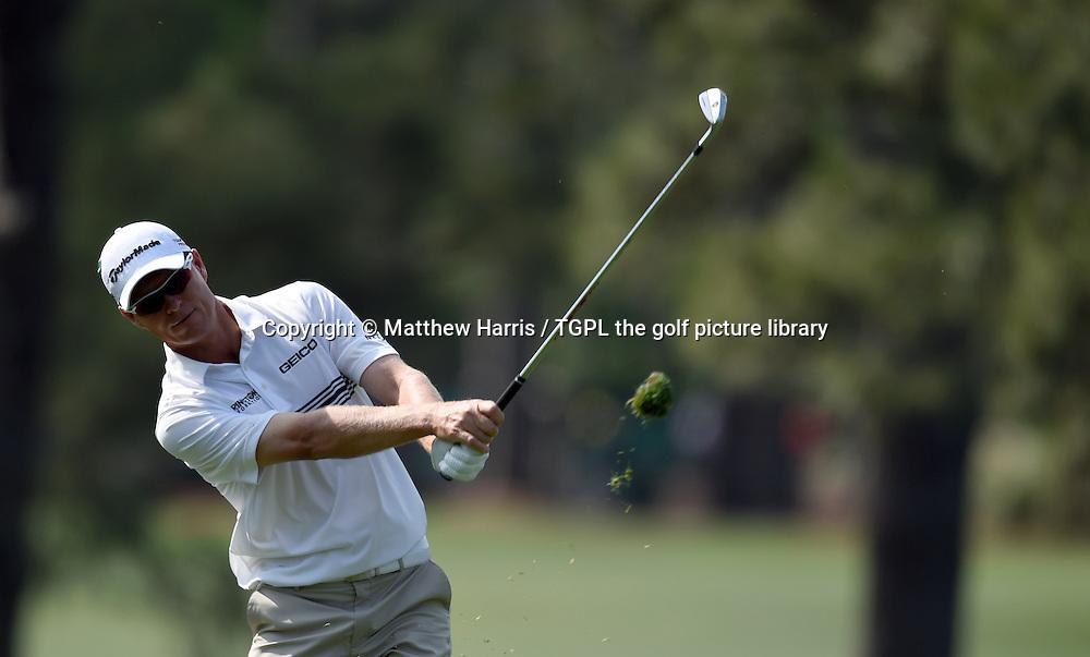 John SENDON (AUS) during second round US Masters 2014,Augusta National,Augusta, Georgia,USA.