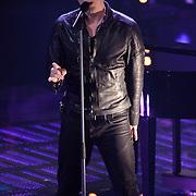 NLD/Hilversum/20120120 - Finale the Voice of Holland 2012, optreden Gavin Shane DeGraw