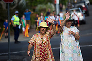Crowds by the side of the road cheering the Baton as the Queen's Baton Relay visited Nowra. From 25 January to 2 March 2018, the Queen's Baton will visit every other state and territory before Queensland. As the Queen's Baton Relay travels the length and breadth of Australia, it will not just pass through, but spend quality time in each community it visits, calling into hundreds of local schools and community celebrations in every state and territory. The Gold Coast 2018 Commonwealth Games (GC2018) Queen's Baton Relay is the longest and most accessible in history, travelling through the Commonwealth for 388 days and 230,000 kilometres. After spending 100 days being carried by approximately 3,800 batonbearers in Australia, the Queen's Baton journey will finish at the GC2018 Opening Ceremony on the Gold Coast on 4 April 2018.