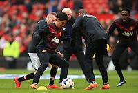 Manchester United's Shinji Kagawa during the warm up