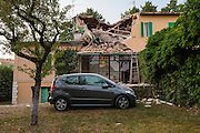I paesi distrutti dal sisma che ha colpito il centro Italia la notte del 24 agosto. Amatrice (RI) 25 agosto 2016. Christian Mantuano / OneShot<br />