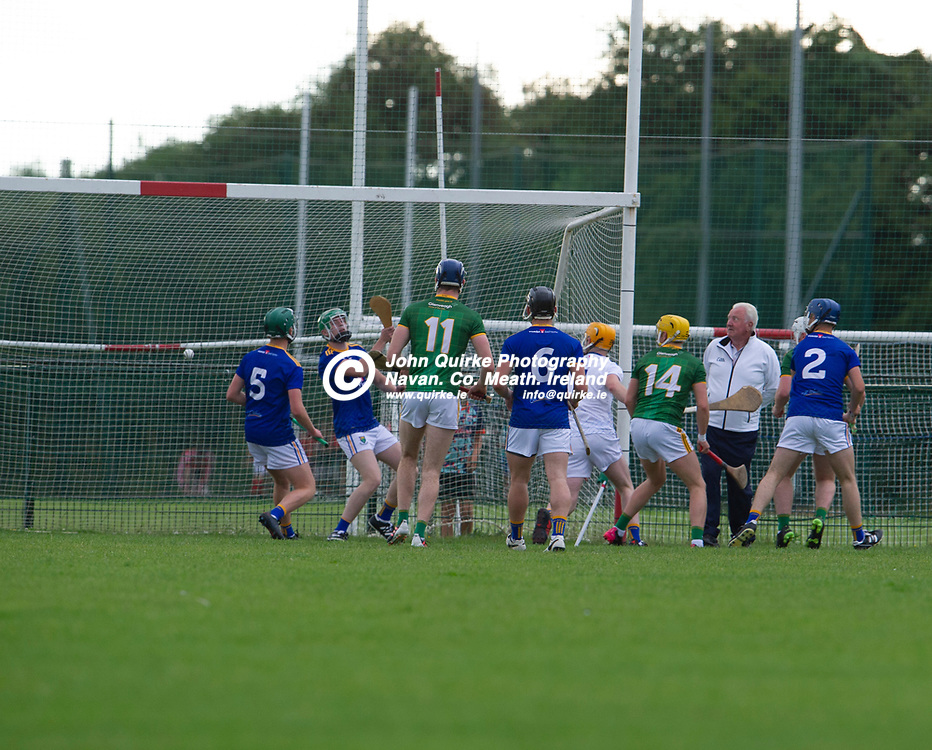 13-07-21. Meath v Wicklow - Leinster U-20 B Hurling Championship (Richie McElligott Cup) 2021 at St. Loman's Park, Trim.<br /> Meath first goal<br /> Photo: John Quirke / www.quirke.ie<br /> ©John Quirke Photography, 16 Proudstown Road, Navan. Co. Meath. (info@quirke.ie / 046-9028461 / 087-2579454).