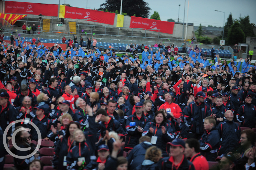 Special , olympics, limerick, 2010, national, final, opening, ceremony produced , arcana, Thomond park,.  Photo:Andrew Downes.