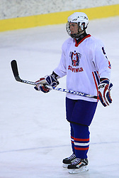 Aleksandar Magovac at friendly ice-hockey game between Slovenian National Team U20 and HKMK Bled, before World Championship Division 1, Group A in Herisau, Switzerland, on December 11, 2008, in Bled, Slovenia. (Photo by Vid Ponikvar / Sportida)