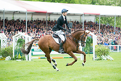Fox Pitt William, (GBR), Chilli Morning<br /> Jumping<br /> Mitsubishi Motors Badminton Horse Trials - Badminton 2015<br /> © Hippo Foto - Jon Stroud