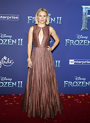 Kristen Bell at the World premiere of Disney's 'Frozen 2' held at the Dolby Theatre in Hollywood, USA on November 7, 2019.