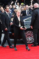 Meryl Streep, Florence Foster Jenkins - World film premiere, Leicester Square, London UK, 12 April 2016, Photo by Richard Goldschmidt