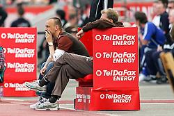 10.04.2011,  BayArena, Leverkusen, GER, 1. FBL, Bayer Leverkusen vs FC St. Pauli, 29. Spieltag, im Bild: Holger Stanislawski (Trainer St. Pauli) (L)  EXPA Pictures © 2011, PhotoCredit: EXPA/ nph/  Mueller       ****** out of GER / SWE / CRO  / BEL ******