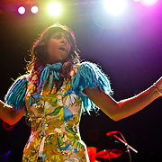 WASHINGTON, DC - June 18th, 2012 - Santi White, aka Santigold, performs a sold out show at the 9:30 Club in Washington, D.C. White released her sophomore album,  Master of My Make-Believe, in April. (Photo by Kyle Gustafson/For The Washington Post)