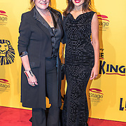NLD/Scheveningen/20161030 - Premiere musical The Lion King, Xandra Brood en dochter Holly Brood