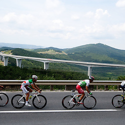 20110617: Cycling - 2nd Stage at 18th Tour de Slovenie 2011