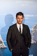 David Gandy attends the Dolce & Gabbana Mediterranean Summer Cocktail in Madrid