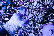 Chicago's viral sensations OK Go brought confetti and the hits to The Pageant in St. Louis on April 4th, 2015. Fujifilm X100s.