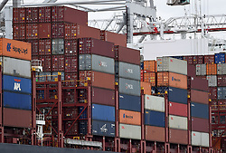 File photo dated 29/7/15 of containers on a ship, as duty-free access to the UK for imports from nations across the developing world will be maintained after Brexit, the Government has said.