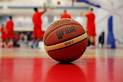 General View of a ball as Bristol Flyers warm up before the match - Photo mandatory by-line: Rogan Thomson/JMP - 07966 386802 - 13/02/2015 - SPORT - BASKETBALL - Bristol, England - SGS Wise Arena - Bristol Flyers v Surrey United - BBL Championship.