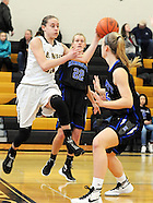 Kennett at Central Bucks West Girls Basketball in Doylestown, Pennsylvania