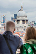 The viewing level provides a 360 degree view of Londons skyline - The new Tate Modern will open to the public on Friday 17 June. The new Switch House building is designed by architects Herzog & de Meuron, who also designed the original conversion of the Bankside Power Station in 2000.
