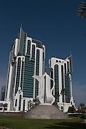 = the new sky scrappers area in west bay  Doha  QATAR///nouveau quartier des gratte-ciel a west bay  Doha  QATAR +