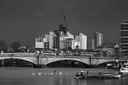 Mortlake, Greater London. 16 February 2020, Pre Boat Race Fixture, Cambridge University Women's Boat Club, CUWBC vs Nereus Rowing Club  Championship Course, Putney to Mortlake, River Thames, [Mandatory Credit: Peter SPURRIER/Intersport Images],