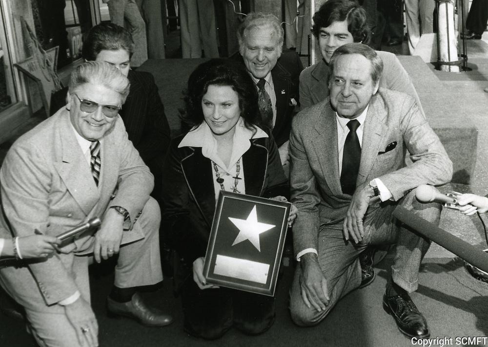 1978 Loretta Lynn's Walk of Fame ceremony