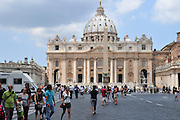 Vatican City, Rome, Italy  St. Pietro (St Peter's) square