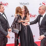 NLD/Amsterdam20150518 - Premiere De Surprise, Jeroen van Koningsbrugge en partner Marie-Claire Witlox, Marco Borsato en partner Leontien Ruiters