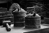 Sleeping Gas Cans, Knights Foundry, Sutter Creek, CA