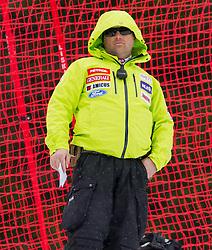 Mitja Kunc during the 2nd Run of 7th Men's Giant Slalom - Pokal Vitranc 2013 of FIS Alpine Ski World Cup 2012/2013, on March 9, 2013 in Vitranc, Kranjska Gora, Slovenia. (Photo By Vid Ponikvar / Sportida.com)