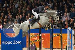 Maarse Dave (NED) - Astrello<br /> KWPN Hengstenkeuring - 's Hertogenbosch 2012<br /> © Dirk Caremans