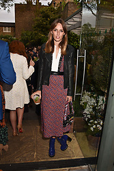 Lady Alice Manners at The Ivy Chelsea Garden's Annual Summer Garden Party, The Ivy Chelsea Garden, 197 King's Road, London England. 9 May 2017.<br /> Photo by Dominic O'Neill/SilverHub 0203 174 1069 sales@silverhubmedia.com