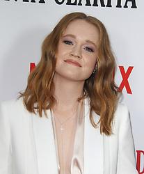 Los Angeles Premiere of Netflix's Santa Clarita Diet Season Two at Arclight in Hollywood, California on 3/22/18. 22 Mar 2018 Pictured: Liv Hewson. Photo credit: River / MEGA TheMegaAgency.com +1 888 505 6342