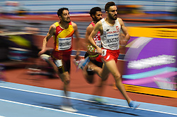 March 2, 2018 - Birmingham, England, United Kingdom - Adam Kszczot ofPoland  at 800 meter semi final at World indoor Athletics Championship 2018, Birmingham, England on March 2, 2018. (Credit Image: © Ulrik Pedersen/NurPhoto via ZUMA Press)