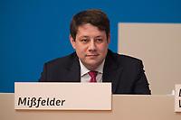 09 DEC 2014, KOELN/GERMANY:<br /> Philipp Missfelder, MdB, CDU, ehem. JU Bundesvorsitzender, CDU Bundesparteitag, Messe Koeln<br /> IMAGE: 20141209-01-069<br /> KEYWORDS: Party Congress, Philipp Mißfelder