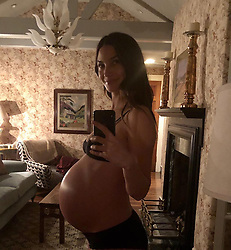 """Lily Aldridge releases a photo on Instagram with the following caption: """"Ready to \ud83d\udca5\ud83c\udf7f\ud83c\udf88"""". Photo Credit: Instagram *** No USA Distribution *** For Editorial Use Only *** Not to be Published in Books or Photo Books ***  Please note: Fees charged by the agency are for the agency's services only, and do not, nor are they intended to, convey to the user any ownership of Copyright or License in the material. The agency does not claim any ownership including but not limited to Copyright or License in the attached material. By publishing this material you expressly agree to indemnify and to hold the agency and its directors, shareholders and employees harmless from any loss, claims, damages, demands, expenses (including legal fees), or any causes of action or allegation against the agency arising out of or connected in any way with publication of the material."""
