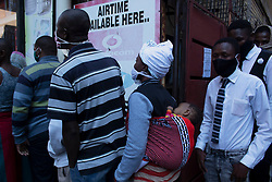 May 15, 2020, Pretoria, Gauteng, South Africa: People from all around Pretoria South Africa joined the queue with a hope to get food hamper but return empty hand due to over crowd on 15th May 2020 (Credit Image: © Manash Das/ZUMA Wire)