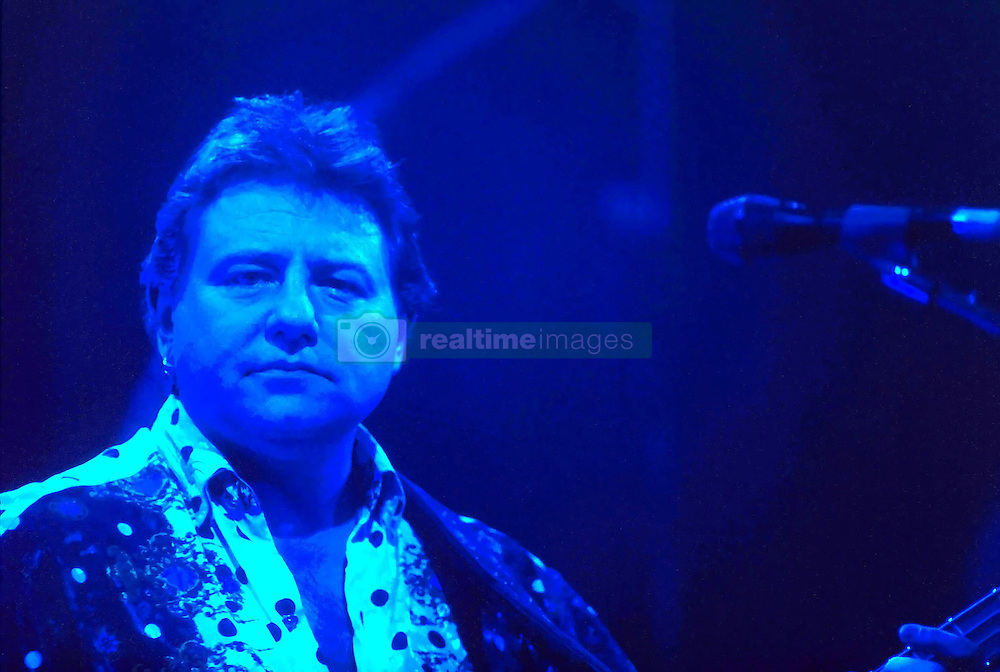 Musical british legend, bas player, singer and producer Greg Lake dies last night at 69, after a long battle against cancer. File imager from the ELP reunion in 1992. 08 Dec 2016 Pictured: Greg Lake. Photo credit: Bruno Marzi / MEGA TheMegaAgency.com +1 888 505 6342