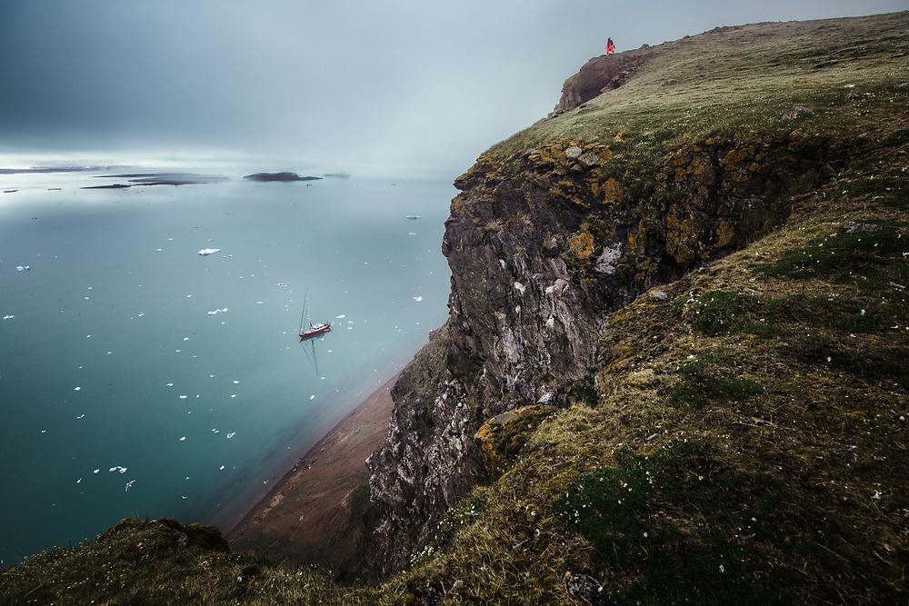 Kongsbreen fjord, Spitsbergen