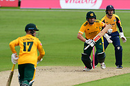 Chris Nash of Nottinghamshire during the Vitality T20 Blast North Group match between Nottinghamshire County Cricket Club and Yorkshire County Cricket Club at Trent Bridge, Nottingham, United Kingdon on 31 August 2020.