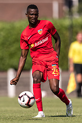 Bernard Mensah of Kayserispor during the Pre-season Friendly match between jong FC Utrecht and Kayserispor at Sportpark Rheden on July 27, 2018 in Rheden, The Netherlands