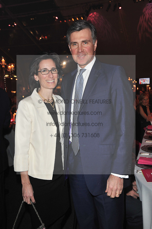 PRINCE & PRINCESS KARL VON AUERSPERG-BREUNNER at the KIDS 40th Birthday Gala Dinner held in the Boiler House at Battersea Power Station, London on 10th March 2011.