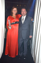DAVINA McCALL and CHRIS MOYLES at the 2006 Glamour Women of the Year Awards 2006 held in Berkeley Square Gardens, London W1 on 6th June 2006.<br /><br />NON EXCLUSIVE - WORLD RIGHTS