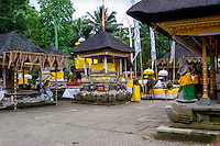 Bali, Gianyar, Tirtha Empul. Pura Tirtha Empul temple close to Tampaksiring. Beautiful decorations.